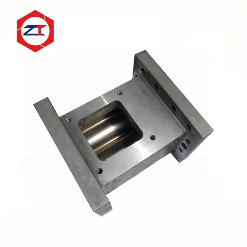 85mm Extruder Machine Parts Feeder Screw Barrel 67.8mm Center Distance For Plastic Industry
