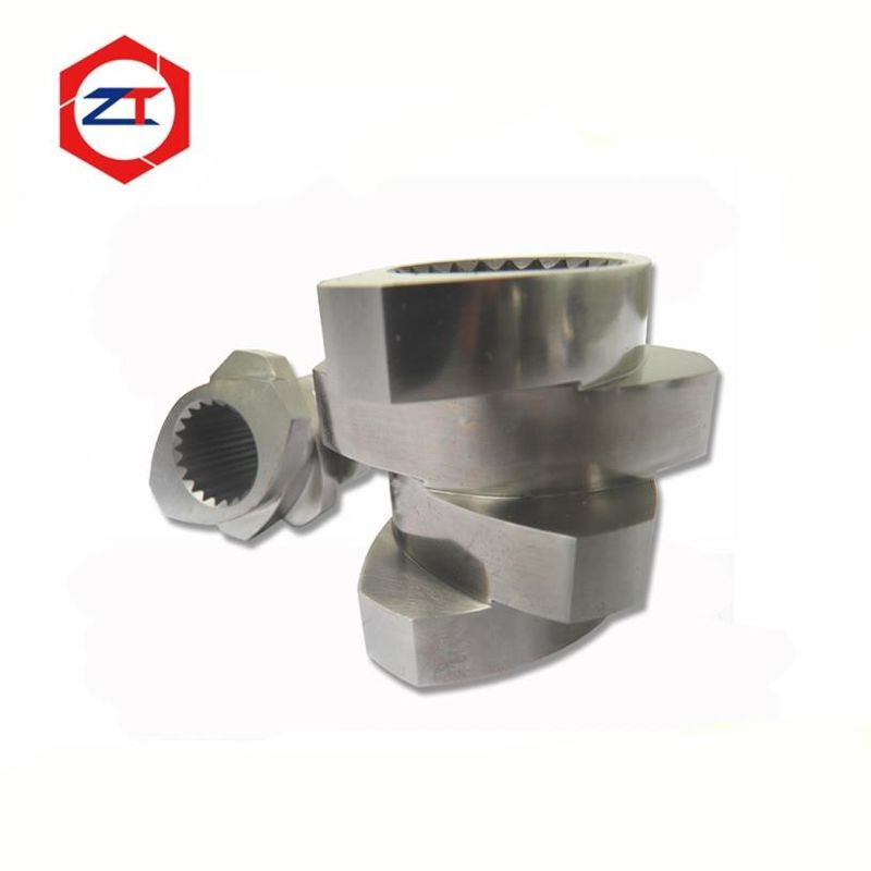 Melting Zone Extruder Screw Elements 30° - 90° Angle Design Stable Performance